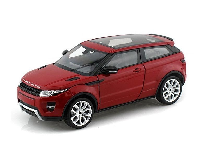 Land Rover Range Rover Evoque 1 43 Welly Vermelha - R  24,99 em Mercado  Livre bc5ae8a254