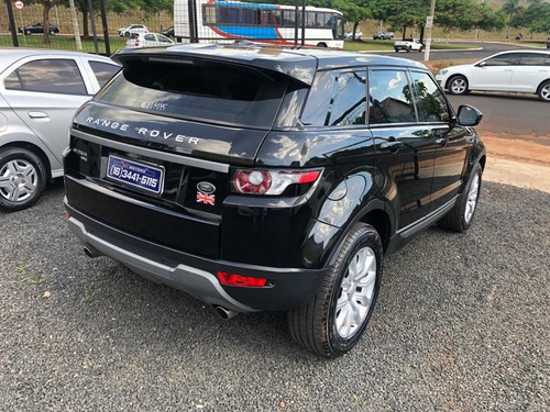 land rover range rover evoque pure tech 2.0 preto 2015