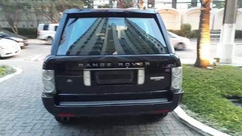 land rover range rover vogue v8 supercharger 2008 blindada