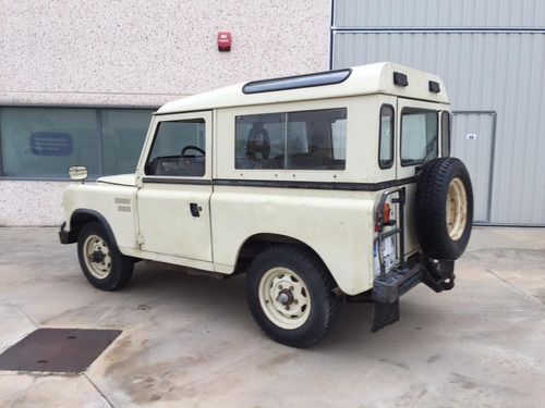 land rover santana turbo