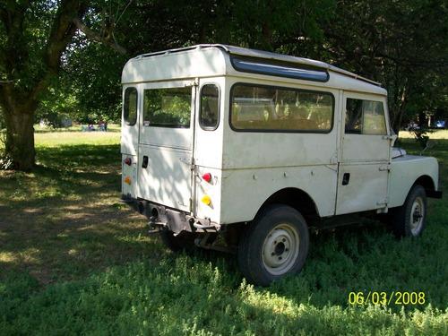 land rover serie 1 station wagon 88 4x4 original