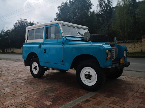 land rover series ii 1969