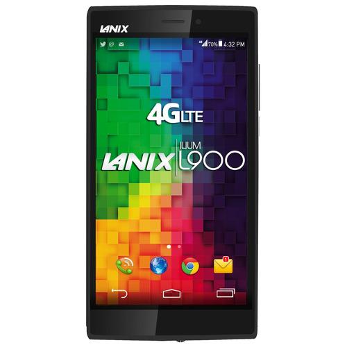lanix l900 negro 4g 8gb 13mpx 5 + sim claro prepago