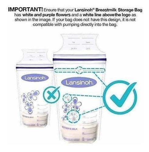 lansinoh breastmilk storage bags, 100 count, bpa