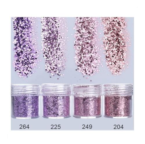 lantejoula glitter  para decoração de unhas - nail art