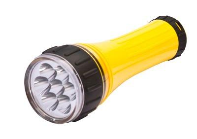 lanterna 7 leds 40 lumens 40mts nks*