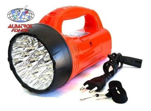 lanterna albatroz 39 leds (23+16 leds) recarregavel led-735
