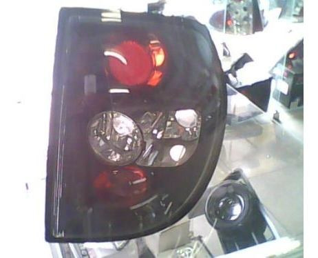 lanterna altezza vw fox  cromo e blak -