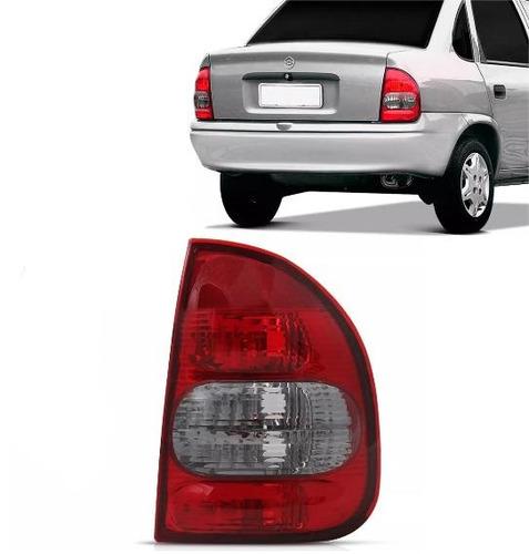 lanterna bicolor vermelha ré fumê importad corsa sedan 97 ld