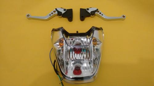 lanterna c pisca embutido titan 150  + manetes c regulagem