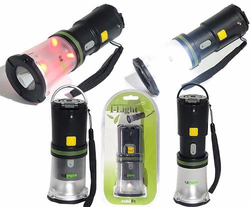 lanterna camping dínamo recarregável echolife i-light
