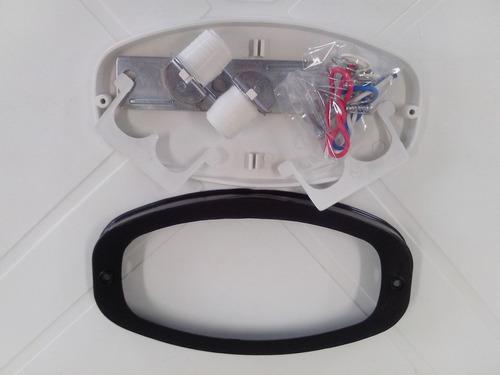 lanterna canoinha p/ reboque carretinha adaptação parachoque