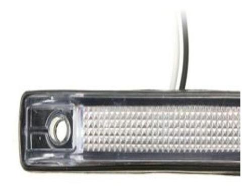 lanterna com 6 leds smd branca 12v caminhão reboque carro moto baú bagageiro lateral