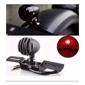 Lanterna Com Luz De Freio Moto Custom Cafe Racer Chopper