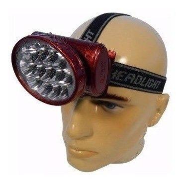 lanterna de cabeça 13 led muito forte recarregavel promoção