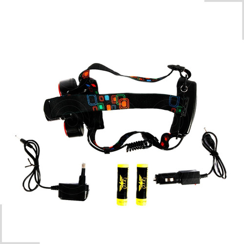lanterna de cabeça jyx led recarregável jy-8850