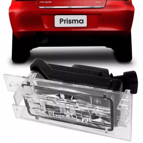lanterna de placa gm celta 2001 até 2006 prisma 2006 a 2013