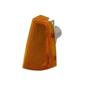 lanterna dianteira chevette-lado esquerdo-amarelo-aplicado