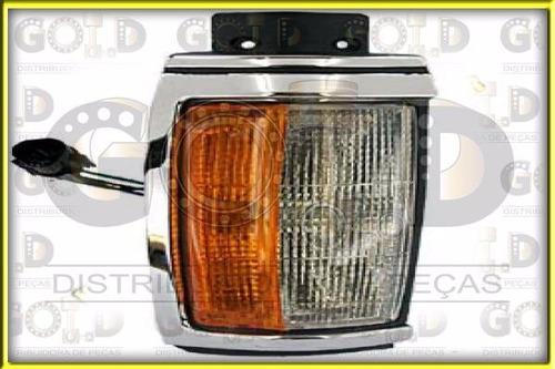 lanterna dianteira lado esquerdo cromada l200 (.../04)