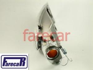 lanterna dianteira pisca seta lado do farol logus e pointer