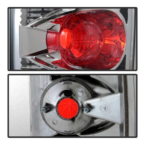 lanterna esportiva dodge ram 2002 a 2006 cromada - o par