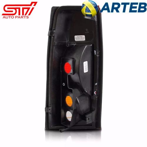 lanterna esquerda traseira silverado arteb 2000 2001 2002