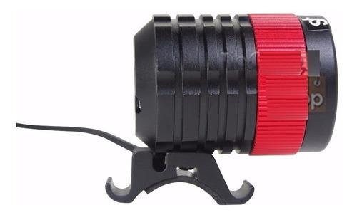 lanterna farol bicicleta bikec/ zoom led super potente 8,4v