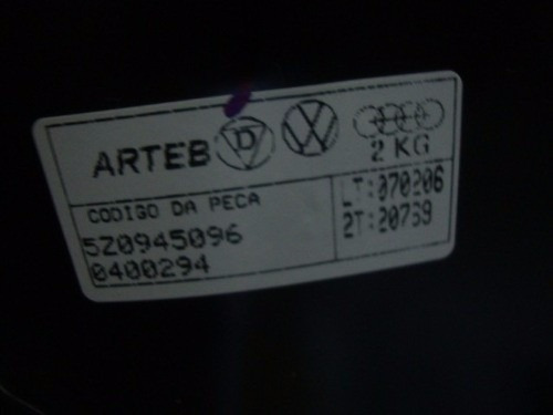 lanterna fox ld arteb sem luz neblina 03/08 original vw