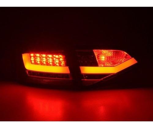 lanterna full led audi a4 2009 a 2012 cromada