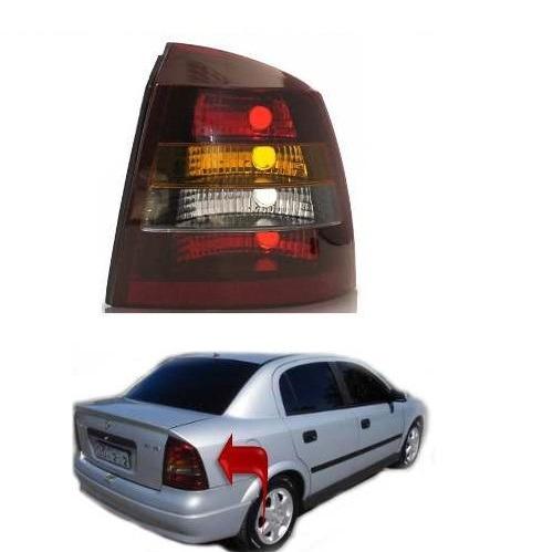 lanterna fume astra sedan direita 98 99 2000 2001 2002 2003