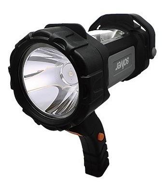 lanterna holofote led cree dupla recarregável solver slp-401