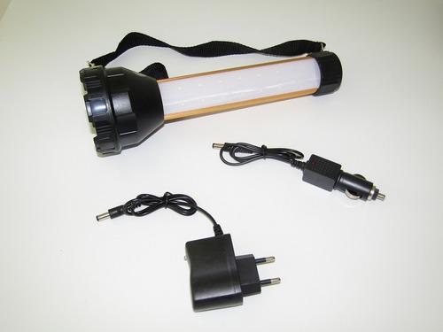 lanterna  holofote led profissional recarregável 500mt