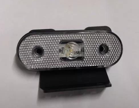 lanterna lateral cristal led caminhão carreta reboque unidad
