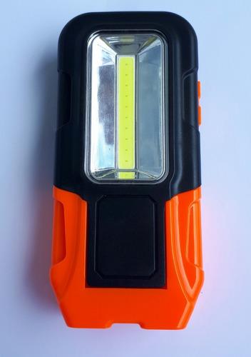 lanterna led com luminária e imã para fixação