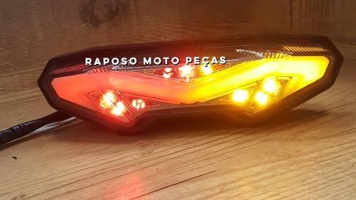 lanterna led com pisca da mt-09 12x sem juros
