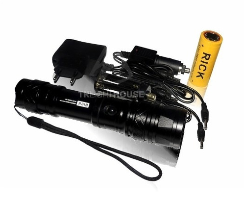 lanterna led cree q5 14000 lumens 5000w bateria recarregável