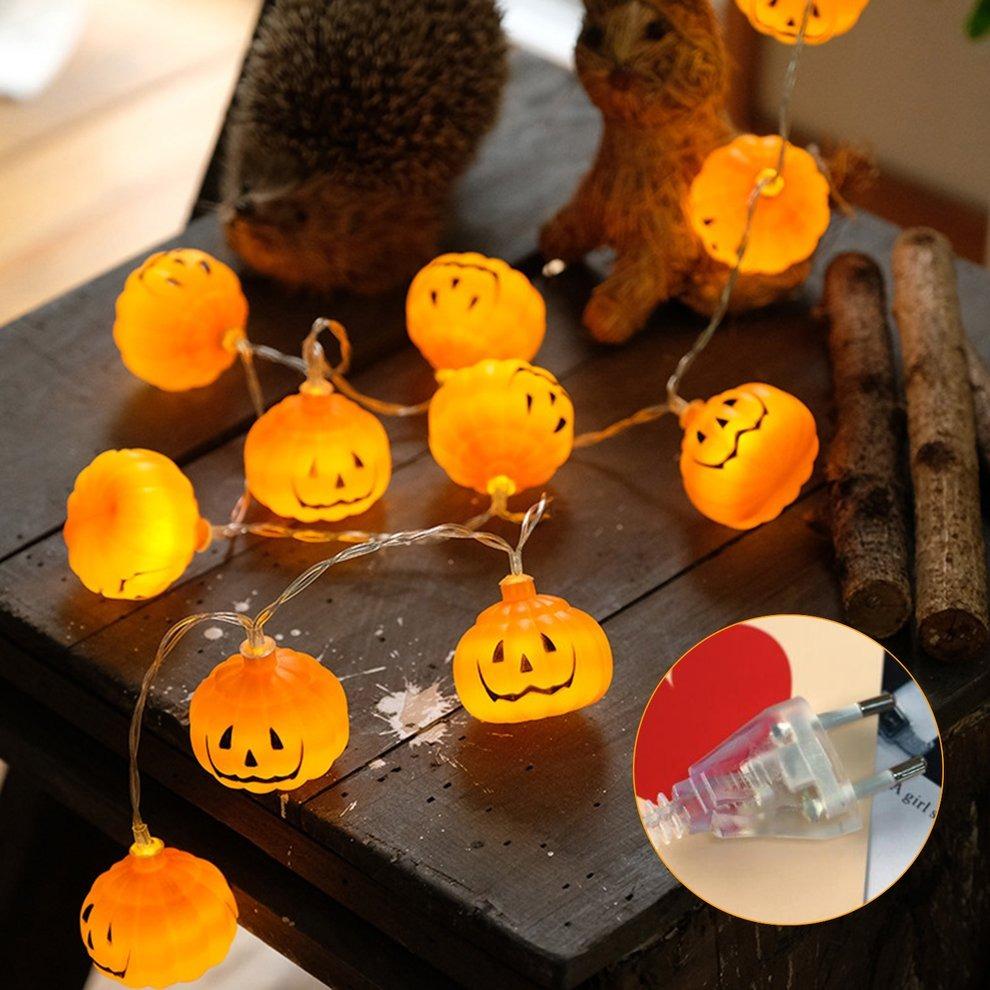 Lanterna Led Dia Halloween Feito A Mao Diy Abobora Lanterna