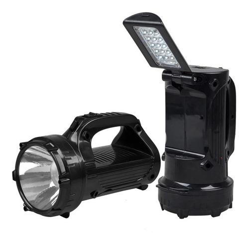 lanterna led holofote recarregável 15 leds 2 funções