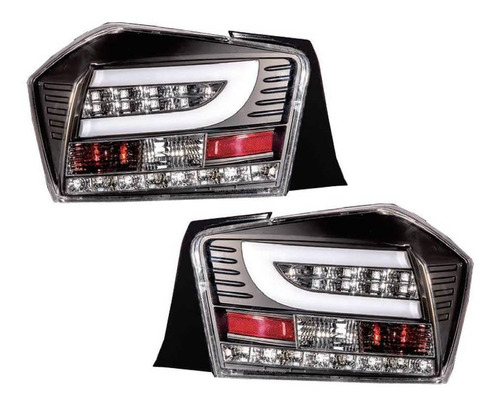lanterna led honda city 2009 10 11 12 13 2014 máscara negra