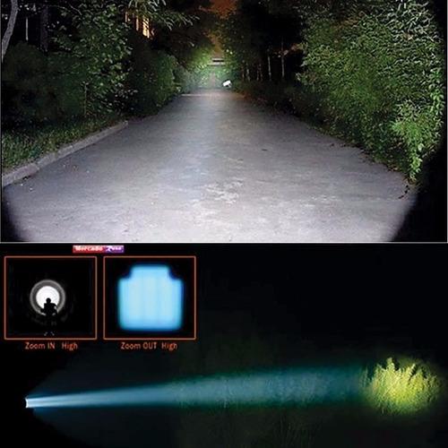lanterna led profissional forte a prova explosão agua choque