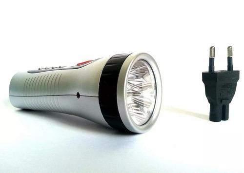 lanterna led recarregável dp 1906 - 5 leds