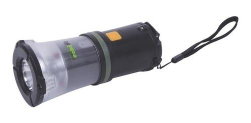 lanterna led recarregável echolife dínamo i-light preto