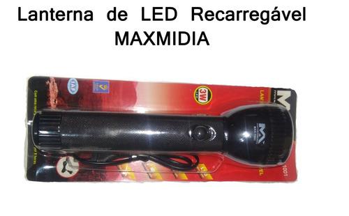lanterna led recarregável max-1001 promoção!!!