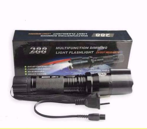 lanterna led taser choque 990.000w melhor que x900 com laser