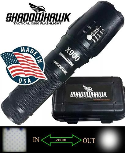 lanterna led x900 tatica shadowhawk original + brinde