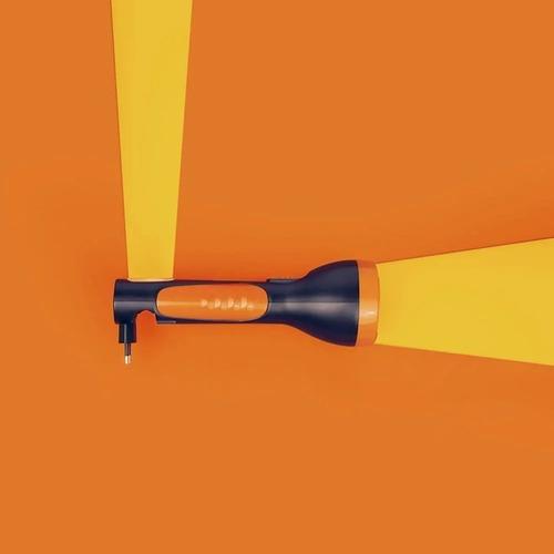 lanterna luminária power led 150 lumens recarregável bivolt - mor