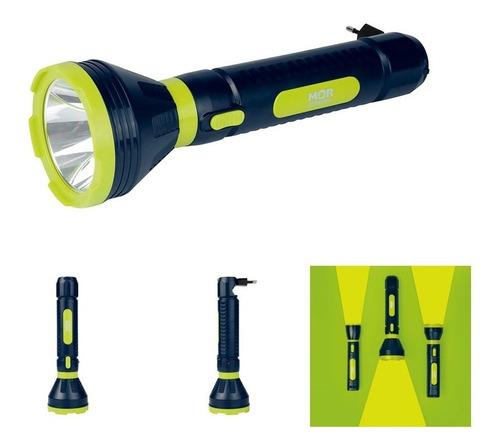 lanterna luminária power led 250 lumens bivolt recarregável