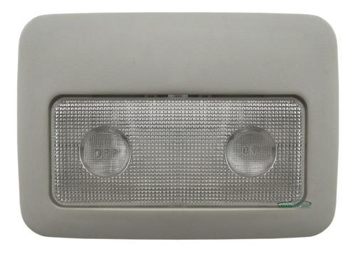 lanterna luz teto palio siena strada 2001 nova bege + lâmpad