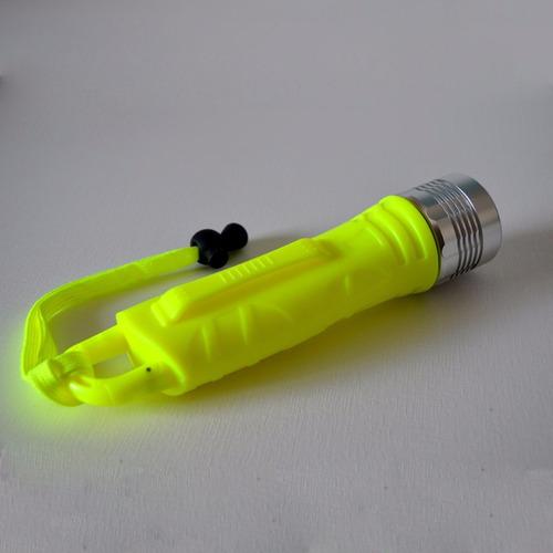 lanterna mergulho 25m led cree prova dágua scuba pesca caça
