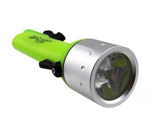 lanterna mergulho à prova d'água led a mais forte até 25m